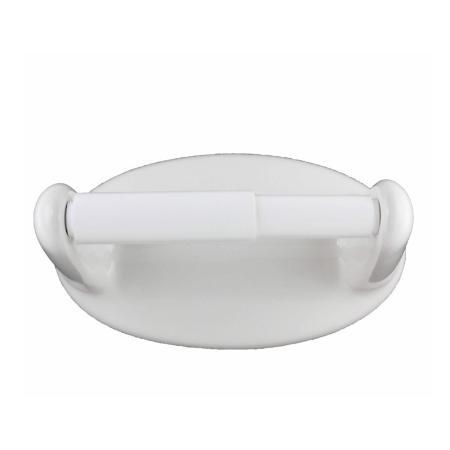 Lenape Classic White Ceramic Toilet Paper Holder