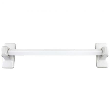 Lenape ProSeries White Ceramic Towel Bar Set
