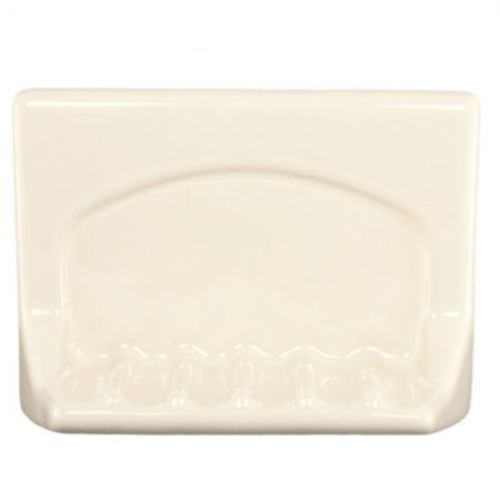 Lenape ProSeries Bone Ceramic Wall Mount Soap Holder