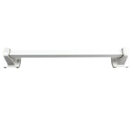 Lenape Carrousel White Ceramic Towel Bar Set