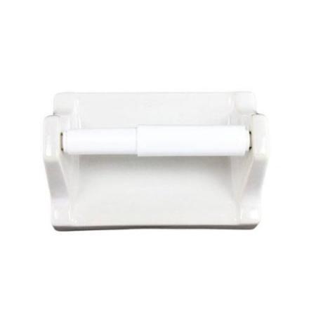 Lenape Carrousel White Ceramic Toilet Paper Holder