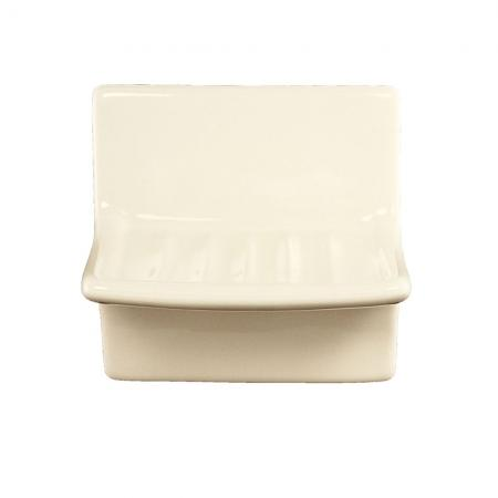 Lenape ProSeries Bone Ceramic Soap Dish