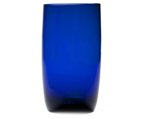 D&V Glass Gala Cobalt Iced Beverage Glass